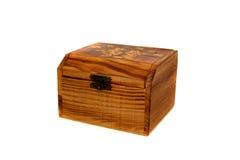 Coffre de trésor en bois Photo libre de droits