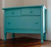Coffre de turquoise des tiroirs Image stock