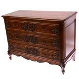 Coffre des tiroirs en bois Photographie stock