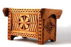 Coffre en bois Images libres de droits