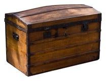 Coffre en bois Photographie stock libre de droits