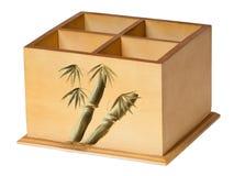 Coffre en bois Images stock