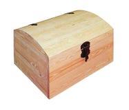 Coffre en bois image libre de droits