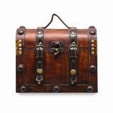 Coffre en bois de cru Photographie stock libre de droits