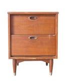 Coffre en bois de tiroir images stock