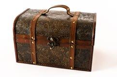 Coffre en bois de vintage Image stock