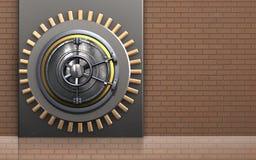 coffre-fort 3d sûr Image libre de droits