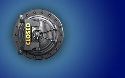 coffre-fort 3d sûr Photos libres de droits