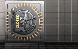 coffre-fort 3d sûr Images stock