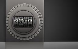 coffre-fort 3d sûr illustration libre de droits