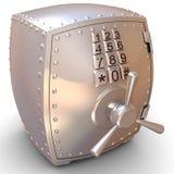 Coffre-fort en métal de sécurité Photos stock