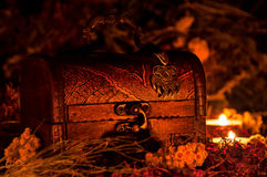 Coffre magique Photographie stock libre de droits