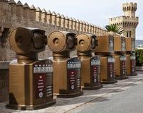 Coffres de réutilisation, Majorca Images libres de droits