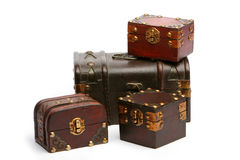 Coffres de trésor Image libre de droits
