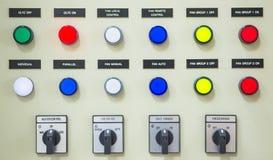 Coffret électrique de contrôleur Images libres de droits