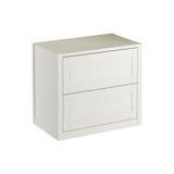 Coffret blanc pour l'usage dans les salles de bains et les cuisines Photographie stock