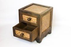 Coffret en bois photos libres de droits