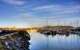 Coffs Harbour på sikt Royaltyfri Foto