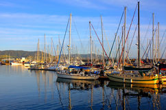 Coffs- Harbourjachthafen, NSW Australien lizenzfreie stockbilder