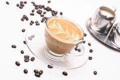 Coffy varm cappuccino royaltyfri fotografi
