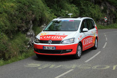 Cofidis car Stock Images