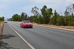 Cofidis Team Car La Vuelta España Royalty Free Stock Photography