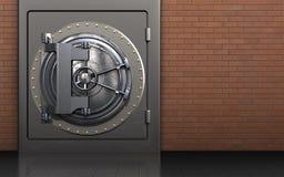 cofre forte 3d seguro Fotografia de Stock