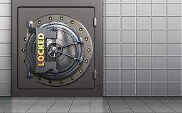 cofre forte 3d seguro Fotografia de Stock Royalty Free