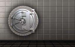 cofre forte 3d seguro Foto de Stock