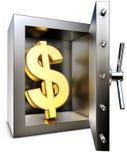 Cofre-forte de banco Foto de Stock Royalty Free