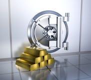 Cofre-forte de banco Imagem de Stock