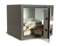 Cofre forte do banco imagem de stock royalty free