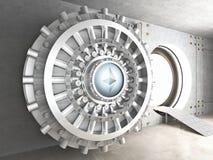 Cofre-forte do cryoto de Ethereum ilustração stock
