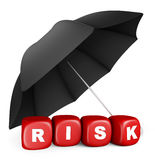 Cofre forte do risco Imagens de Stock Royalty Free