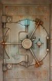 Cofre forte oxidado da porta do Vault