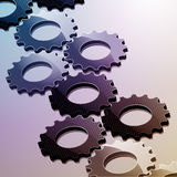 Cog background Stock Photography