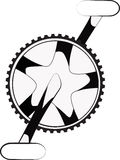 Cog and cranks stock photography