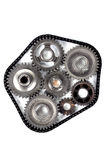 Cog engineering gears Stock Photo