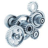 Cog gears mechanism concept Royalty Free Stock Images