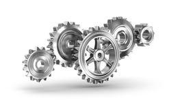 Cog gears mechanism concept Stock Image