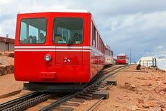 Cog linia kolejowa zdjęcia royalty free