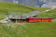 Cog Railway also called as rack railway or rack and pinion railw Royalty Free Stock Images