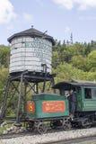 Cog train at Mount Washington stock photos