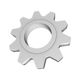 Cog Wheel. Concept depicting progress, technology and industrial elements Royalty Free Stock Photos