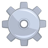 Cog Wheel. An illustration of an isolated cog wheel Royalty Free Stock Photos