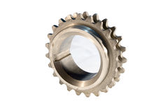 Cog-wheel. Gear of the engine of the car, repair part Royalty Free Stock Photo