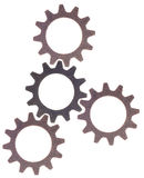 Cog Wheel Gear Background Royalty Free Stock Photos