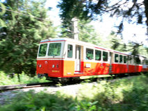 Cog-wheel railway train Royalty Free Stock Photography