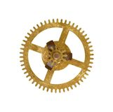 Cog wheel on white background Royalty Free Stock Images