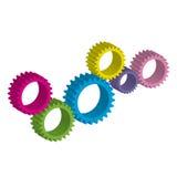 Cog-wheels Στοκ Φωτογραφίες